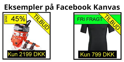 Facebook Dynamisk Kanvas